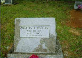 BEASLEY, CHARLEY - Johnson County, Arkansas | CHARLEY BEASLEY - Arkansas Gravestone Photos