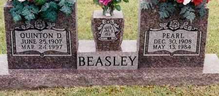 BEASLEY, QUINTON D - Johnson County, Arkansas | QUINTON D BEASLEY - Arkansas Gravestone Photos