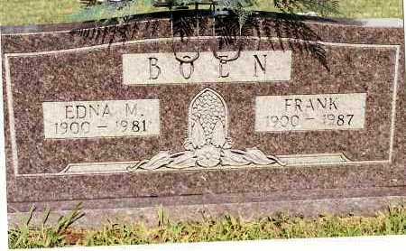 BOEN, FRANK - Johnson County, Arkansas | FRANK BOEN - Arkansas Gravestone Photos