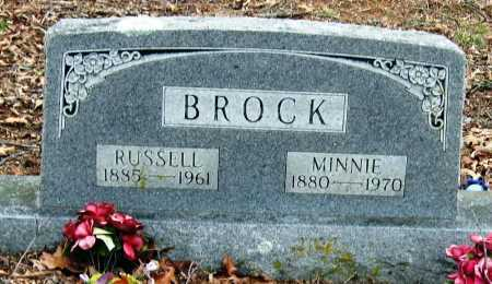 BROCK, RUSSELL - Johnson County, Arkansas | RUSSELL BROCK - Arkansas Gravestone Photos