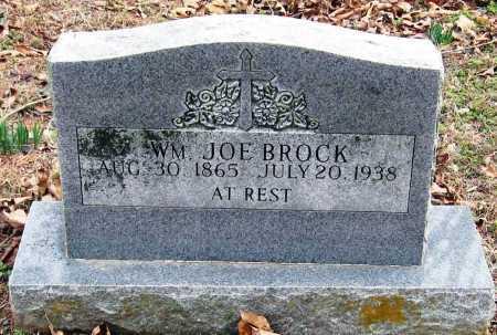 BROCK, WILLIAM JOE - Johnson County, Arkansas | WILLIAM JOE BROCK - Arkansas Gravestone Photos