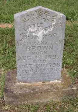 BROWN, ARCHIE - Johnson County, Arkansas | ARCHIE BROWN - Arkansas Gravestone Photos