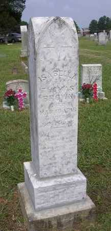 "BROWN, ISABELLA ""BELLE"" - Johnson County, Arkansas 