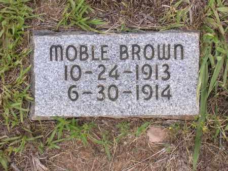 BROWN, MOBLE - Johnson County, Arkansas | MOBLE BROWN - Arkansas Gravestone Photos