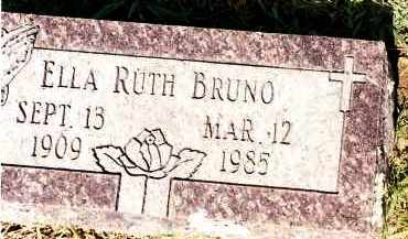 BRUNO, ELLA RUTH - Johnson County, Arkansas | ELLA RUTH BRUNO - Arkansas Gravestone Photos
