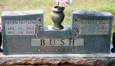 BUSH, HERBERT ELLIS - Johnson County, Arkansas | HERBERT ELLIS BUSH - Arkansas Gravestone Photos