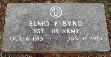 BYRD  (VETERAN), ELMO F - Johnson County, Arkansas | ELMO F BYRD  (VETERAN) - Arkansas Gravestone Photos
