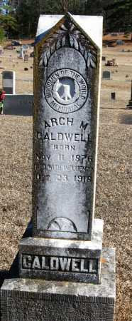CALDWELL, ARCH M - Johnson County, Arkansas | ARCH M CALDWELL - Arkansas Gravestone Photos