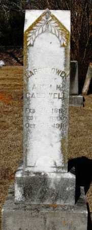 OWEN CALDWELL, CARRIE - Johnson County, Arkansas | CARRIE OWEN CALDWELL - Arkansas Gravestone Photos