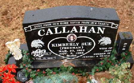 FREEMAN CALLAHAN, KIMBERLY SUE - Johnson County, Arkansas | KIMBERLY SUE FREEMAN CALLAHAN - Arkansas Gravestone Photos