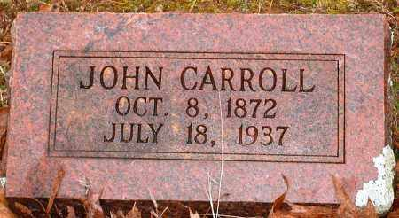 CARROLL, JOHN - Johnson County, Arkansas | JOHN CARROLL - Arkansas Gravestone Photos
