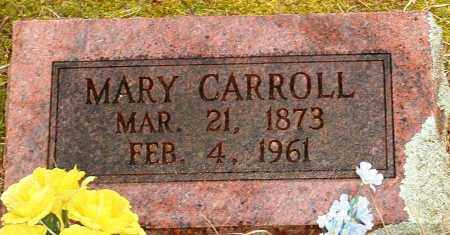 CARROLL, MARY - Johnson County, Arkansas | MARY CARROLL - Arkansas Gravestone Photos