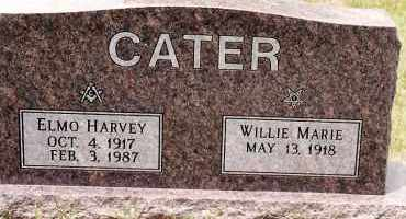 CATER, ELMO HARVEY - Johnson County, Arkansas | ELMO HARVEY CATER - Arkansas Gravestone Photos