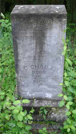 CHAILER, I. C. - Johnson County, Arkansas | I. C. CHAILER - Arkansas Gravestone Photos