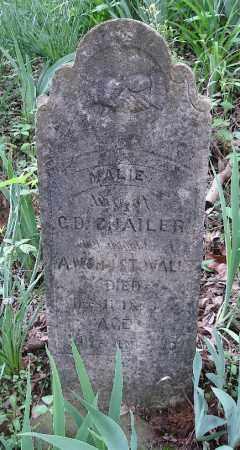 CHAILER, MARIE - Johnson County, Arkansas | MARIE CHAILER - Arkansas Gravestone Photos