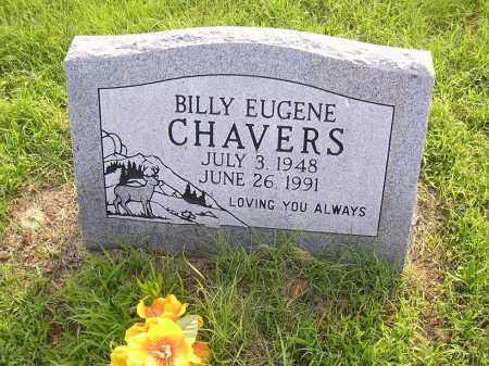 CHAVERS, BILLY EUGENE - Johnson County, Arkansas | BILLY EUGENE CHAVERS - Arkansas Gravestone Photos