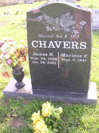CHAVERS, MARLENE F - Johnson County, Arkansas | MARLENE F CHAVERS - Arkansas Gravestone Photos