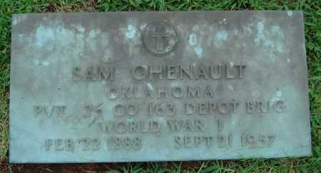 CHENAULT  (VETERAN WWI), SAM - Johnson County, Arkansas | SAM CHENAULT  (VETERAN WWI) - Arkansas Gravestone Photos