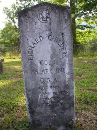CHILDERS, RICHARD E. - Johnson County, Arkansas | RICHARD E. CHILDERS - Arkansas Gravestone Photos