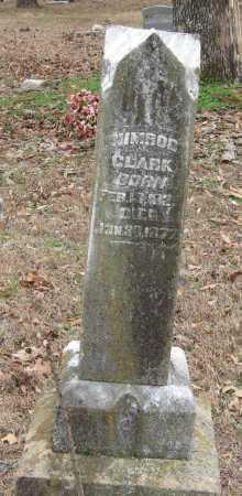 CLARK, NIMROD - Johnson County, Arkansas | NIMROD CLARK - Arkansas Gravestone Photos