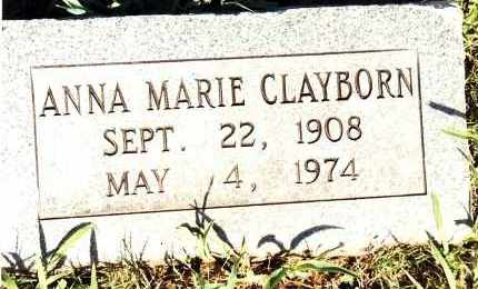 CLAYBORN, ANNA MARIE - Johnson County, Arkansas | ANNA MARIE CLAYBORN - Arkansas Gravestone Photos