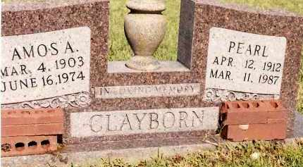 CLAYBORN, PEARL - Johnson County, Arkansas | PEARL CLAYBORN - Arkansas Gravestone Photos