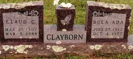 LANEER CLAYBORN, BULA ADA - Johnson County, Arkansas | BULA ADA LANEER CLAYBORN - Arkansas Gravestone Photos