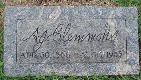 CLEMMONS, A. J. - Johnson County, Arkansas | A. J. CLEMMONS - Arkansas Gravestone Photos