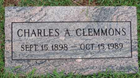 CLEMMONS, CHARLES A. - Johnson County, Arkansas | CHARLES A. CLEMMONS - Arkansas Gravestone Photos