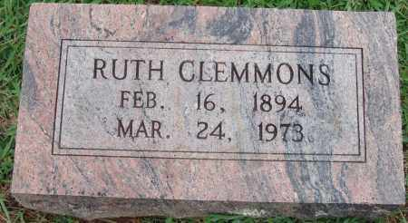 CLEMMONS, RUTH - Johnson County, Arkansas | RUTH CLEMMONS - Arkansas Gravestone Photos