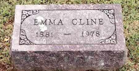 CLINE, EMMA - Johnson County, Arkansas | EMMA CLINE - Arkansas Gravestone Photos