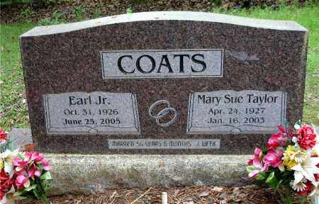 COATS, JR  (VETERAN 2 WARS), EARL - Johnson County, Arkansas | EARL COATS, JR  (VETERAN 2 WARS) - Arkansas Gravestone Photos