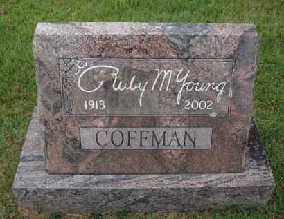 COFFMAN, RUBY M. - Johnson County, Arkansas | RUBY M. COFFMAN - Arkansas Gravestone Photos