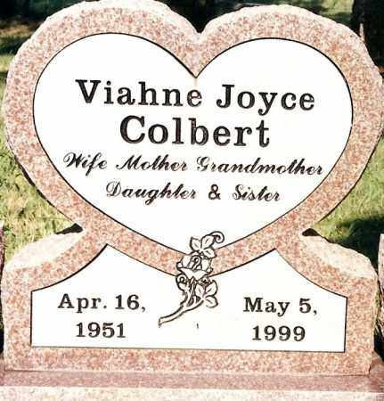 COLBERT, VIAHNE JOYCE - Johnson County, Arkansas | VIAHNE JOYCE COLBERT - Arkansas Gravestone Photos