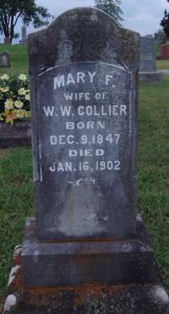 COLLIER, MARY F. - Johnson County, Arkansas | MARY F. COLLIER - Arkansas Gravestone Photos