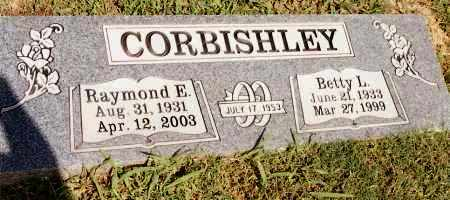CORBISHLEY, RAYMOND E - Johnson County, Arkansas | RAYMOND E CORBISHLEY - Arkansas Gravestone Photos