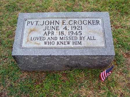 CROCKER  (VETERAN WWII), JOHN - Johnson County, Arkansas | JOHN CROCKER  (VETERAN WWII) - Arkansas Gravestone Photos