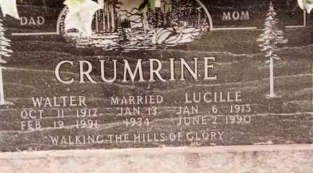 CRUMRINE, LUCILLE - Johnson County, Arkansas | LUCILLE CRUMRINE - Arkansas Gravestone Photos