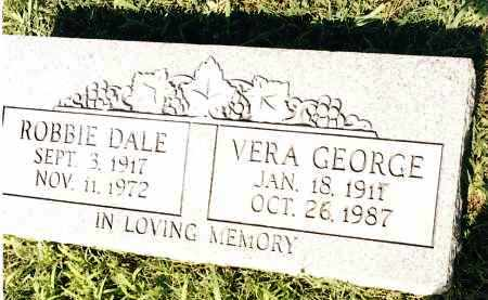 GEORGE, VERA - Johnson County, Arkansas | VERA GEORGE - Arkansas Gravestone Photos