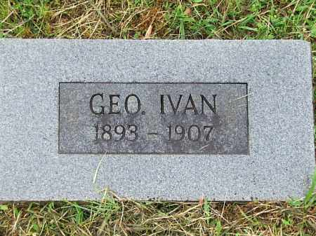 DALTON, GEORGE IVAN - Johnson County, Arkansas | GEORGE IVAN DALTON - Arkansas Gravestone Photos