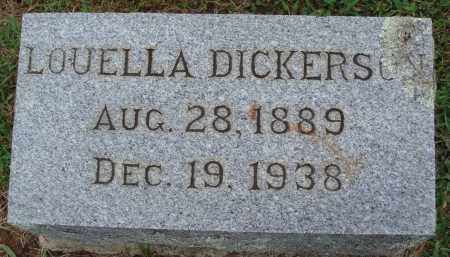 DICKERSON, LOUELLA - Johnson County, Arkansas | LOUELLA DICKERSON - Arkansas Gravestone Photos