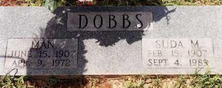 DOBBS, MAN - Johnson County, Arkansas | MAN DOBBS - Arkansas Gravestone Photos