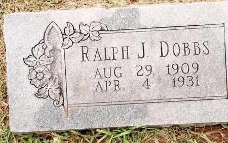 DOBBS, RALPH J. - Johnson County, Arkansas | RALPH J. DOBBS - Arkansas Gravestone Photos