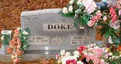 DOKE, BILLIE J - Johnson County, Arkansas | BILLIE J DOKE - Arkansas Gravestone Photos