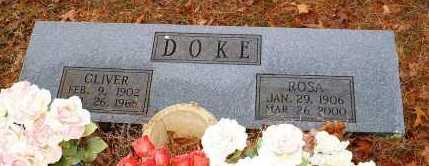 DOKE, ROSA - Johnson County, Arkansas | ROSA DOKE - Arkansas Gravestone Photos