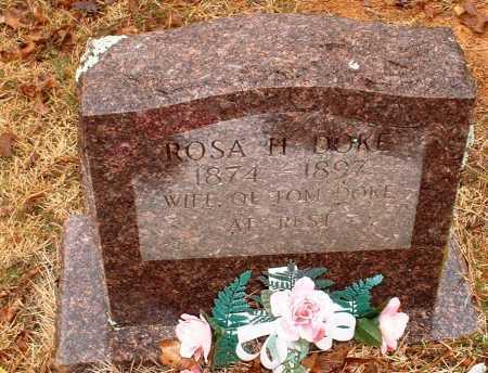DOKE, ROSA H - Johnson County, Arkansas | ROSA H DOKE - Arkansas Gravestone Photos