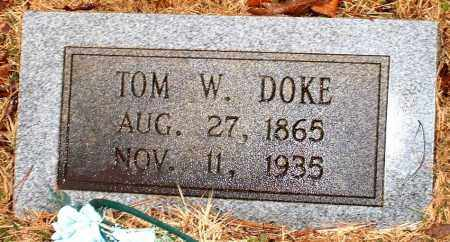 DOKE, TOM W - Johnson County, Arkansas | TOM W DOKE - Arkansas Gravestone Photos