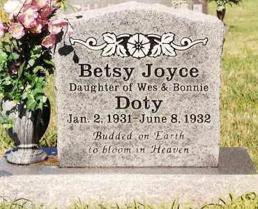 DOTY, BETSY JOYCE - Johnson County, Arkansas | BETSY JOYCE DOTY - Arkansas Gravestone Photos