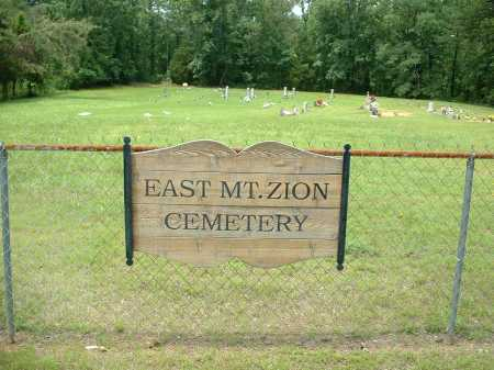 *EAST MT. ZION CEMETERY VIEW,  - Johnson County, Arkansas |  *EAST MT. ZION CEMETERY VIEW - Arkansas Gravestone Photos