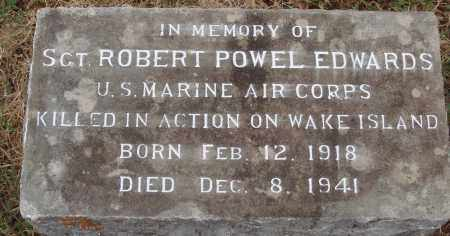 EDWARDS  (VETERAN WWII KIA), ROBERT POWELL - Johnson County, Arkansas | ROBERT POWELL EDWARDS  (VETERAN WWII KIA) - Arkansas Gravestone Photos